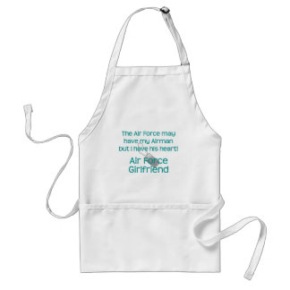 Air Force Girlfriend Have heart Apron