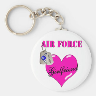 Air Force Girlfriend Keychain