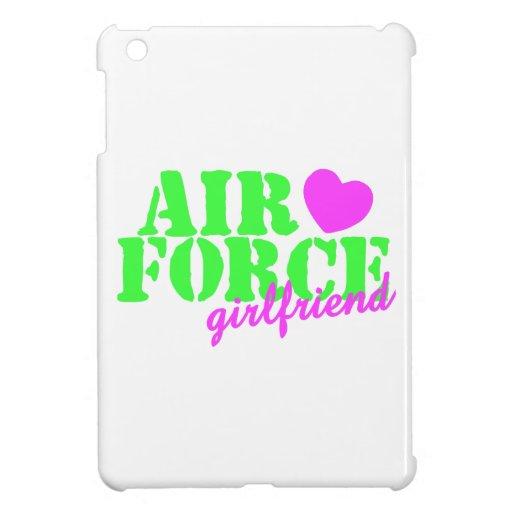 Air Force Girlfriend Lime Green iPad Mini Cover