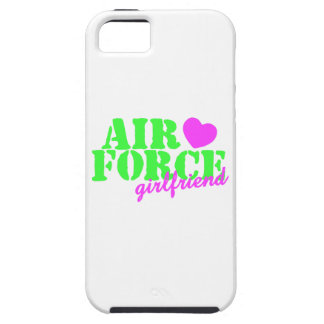 Air Force Girlfriend Lime Green iPhone 5 Cases