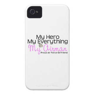 Air Force Girlfriend My Hero Case-Mate iPhone 4 Cases