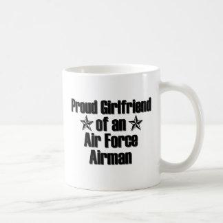 Air Force Girlfriend Proud Basic White Mug