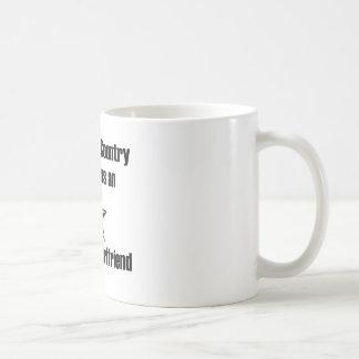 Air Force Girlfriend Serve Mug