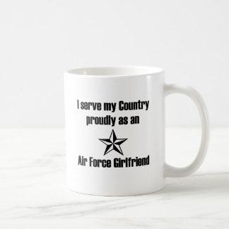 Air Force Girlfriend Serve Mugs