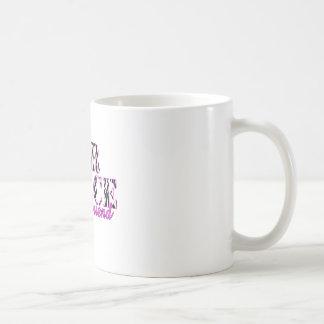 Air Force Girlfriend Zebra Basic White Mug