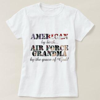 Air Force Grandma Grace of God T-Shirt