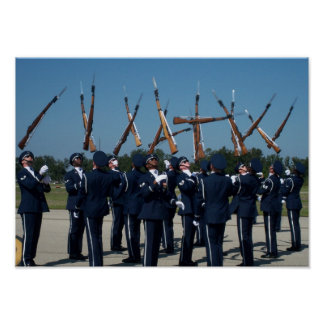 Air Force Honor Guard Poster