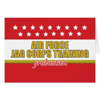 Air Force JAG Corps Training Graduation Card