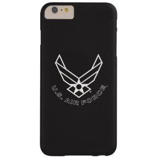 Air Force Logo - Black Barely There iPhone 6 Plus Case