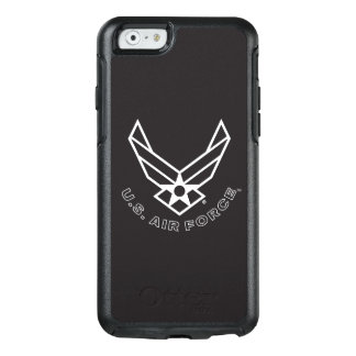 Air Force Logo - Black OtterBox iPhone 6/6s Case
