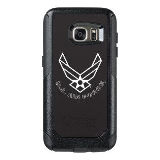 Air Force Logo - Black OtterBox Samsung Galaxy S7 Case