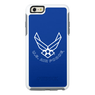 Air Force Logo - Blue OtterBox iPhone 6/6s Plus Case