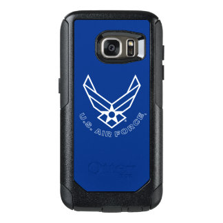 Air Force Logo - Blue OtterBox Samsung Galaxy S7 Case