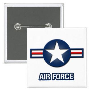 Air Force Logo Button