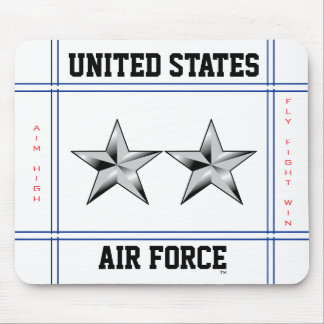 Air Force Major General O-8 Maj Gen Mouse Pad