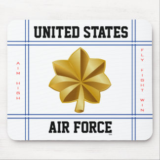 Air Force Major O-4 Maj Mouse Pad