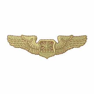 Air Force Navigator Observer Badge Track Jacket