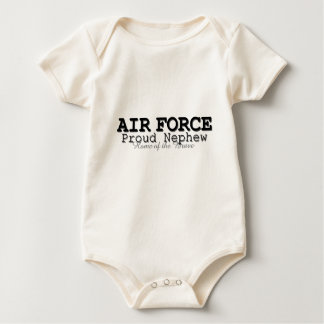 Air Force Nephew Home of Brave Baby Bodysuit