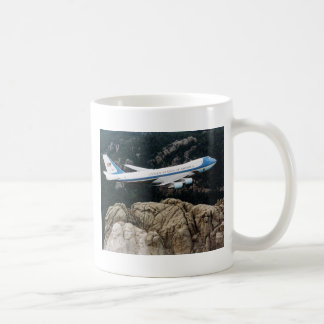 Air Force One over Mount Rushmore Mug