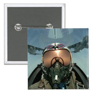 Air Force pilot 15 Cm Square Badge
