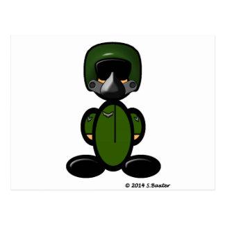Air Force Pilot (plain) Postcard