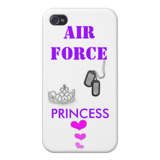 AIR FORCE PRINCESS COVER FOR iPhone 4