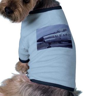AIR FORCE SABRE JET F-86D RINGER DOG SHIRT