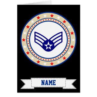 Air Force Senior Airman SrA E-4 Card