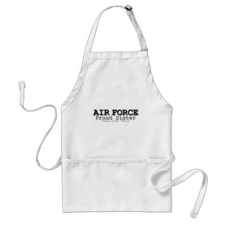 Air Force Sister Home of Brave Apron
