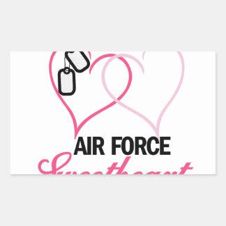 Air Force Rectangular Sticker