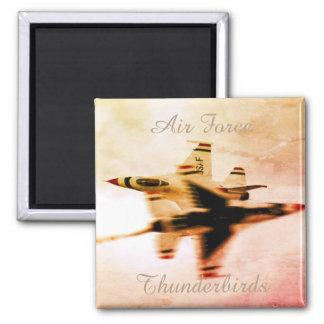 Air Force Thunderbirds Close Pass Maneuver Magnet