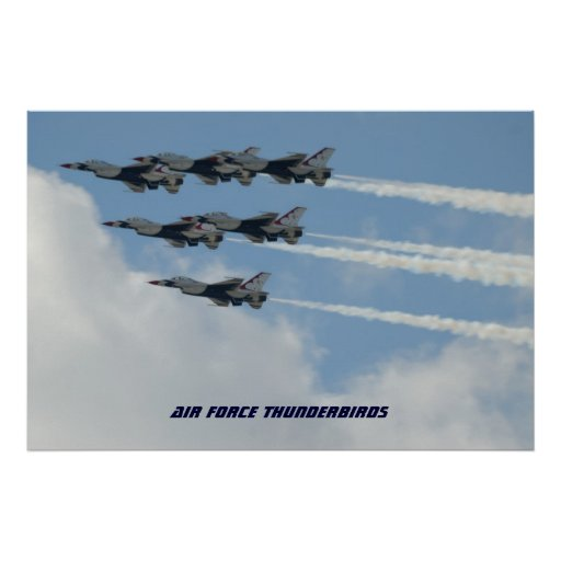 Air Force Thunderbirds Poster