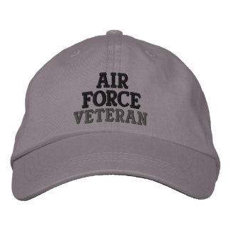 Air Force Veteran Embroidered Baseball Cap