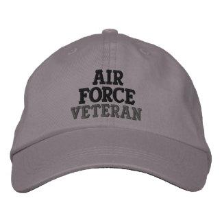 Air Force Veteran Embroidered Baseball Cap