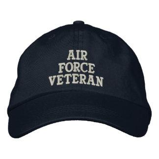 Air Force Veteran Military Embroidered Baseball Cap