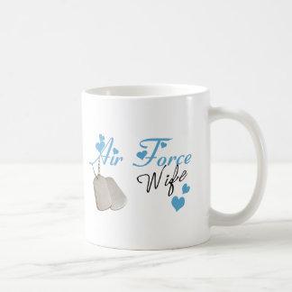 Air Force Wife Coffee Cup Basic White Mug