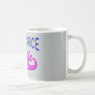 Air Force Wife Retired Coffee Mug