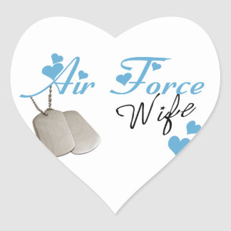 Air Force Wife Stickers
