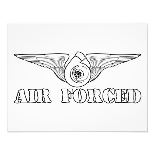 Air Forced Invitations