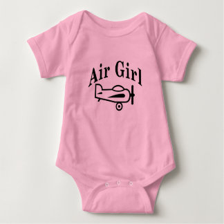 Air Girl Baby Bodysuit