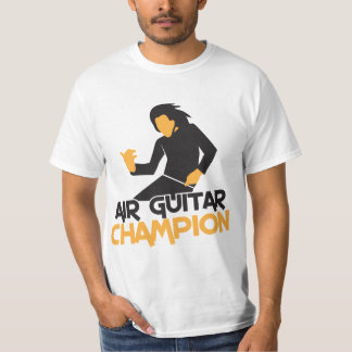 Air Guitar Champion design T-Shirt