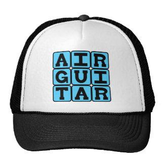 Air Guitar, Phony Musical Instrument Trucker Hat