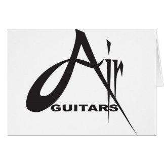 Air Guitars Greeting Card
