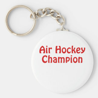 Air Hockey Champion Key Ring