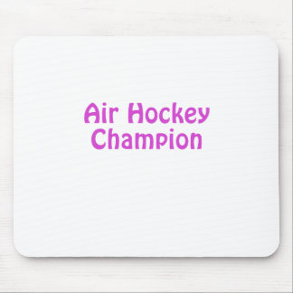 Air Hockey Champion Mouse Pad