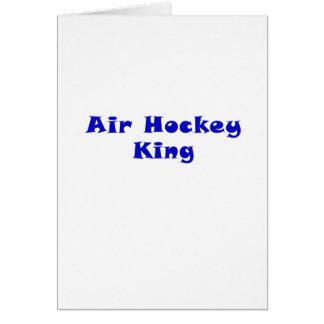 Air Hockey King Card