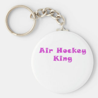 Air Hockey King Key Ring