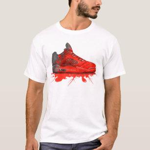 d043223ab16760 Air Jordan Retro 2016 apparel (Crimson Red) T-Shirt
