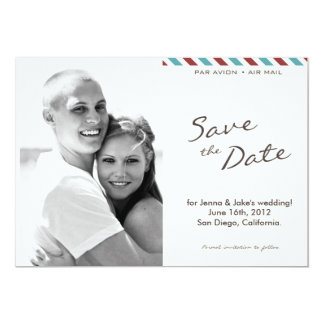 Air Mail Photo Save the Date Announcement (004)