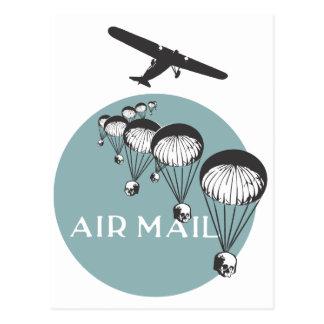 Air mail postcard